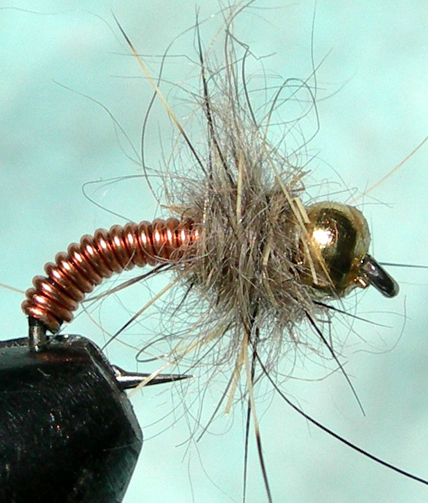 how to fish a brassie fly